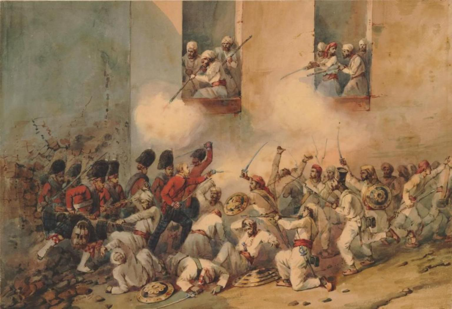 a history of the mutiny of the sepoy in india