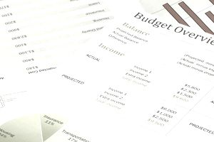 Budget financial documents