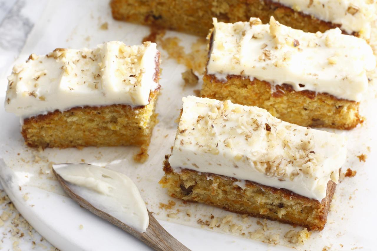 Swiss Carrot Cake Recipe