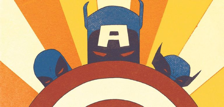 Captain America, Deadpool, and Wolverine by Declan Shalvey and Jordie Bellaire