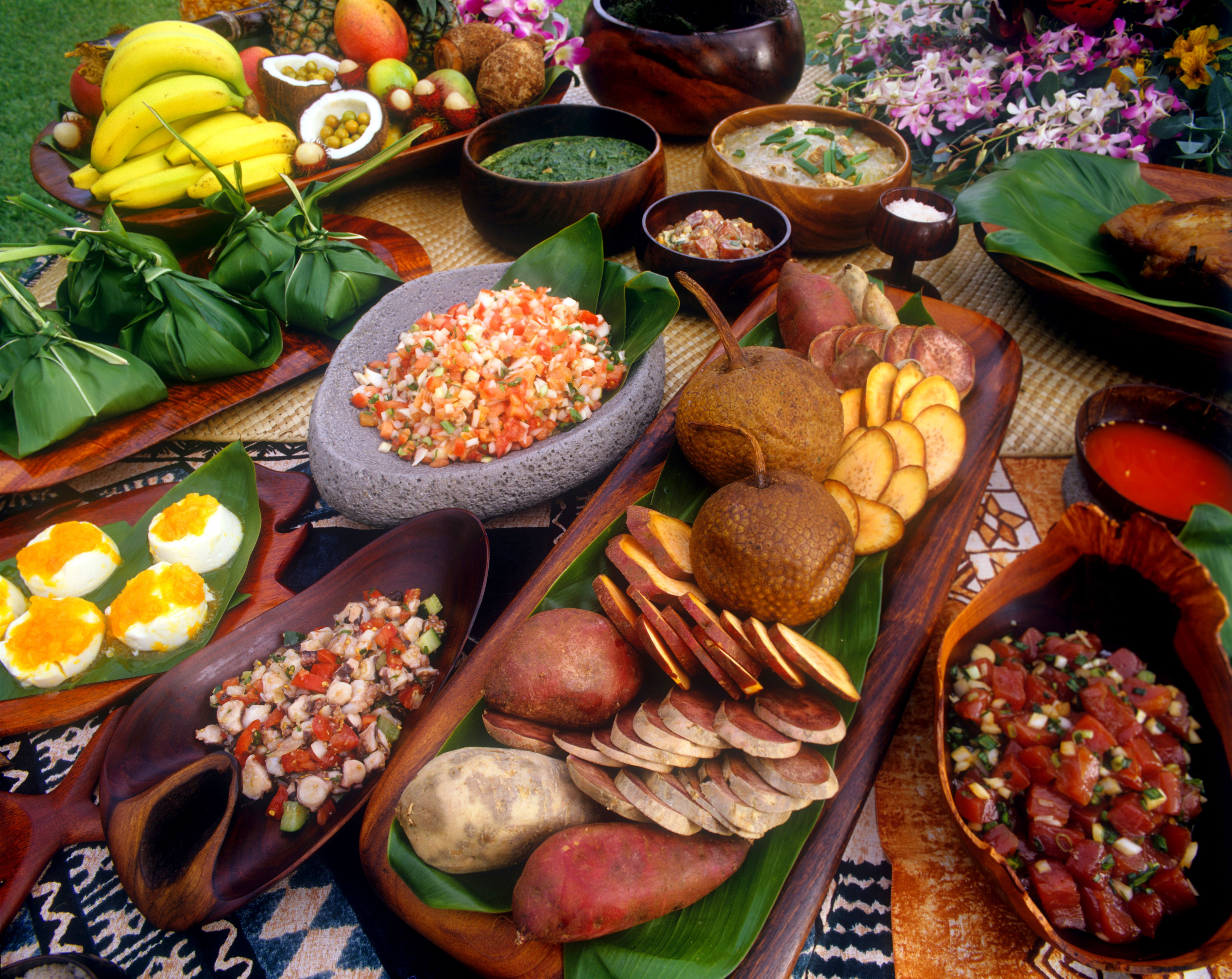 Finger Food Ideas For A Luau Party