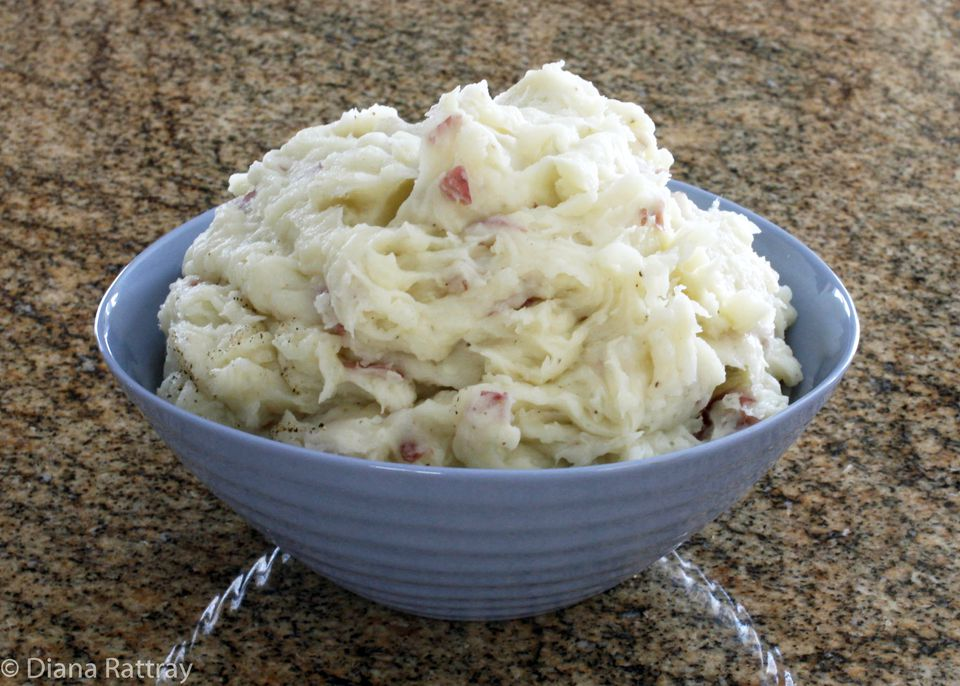 Garlic and Olive Oil Mashed Potatoes