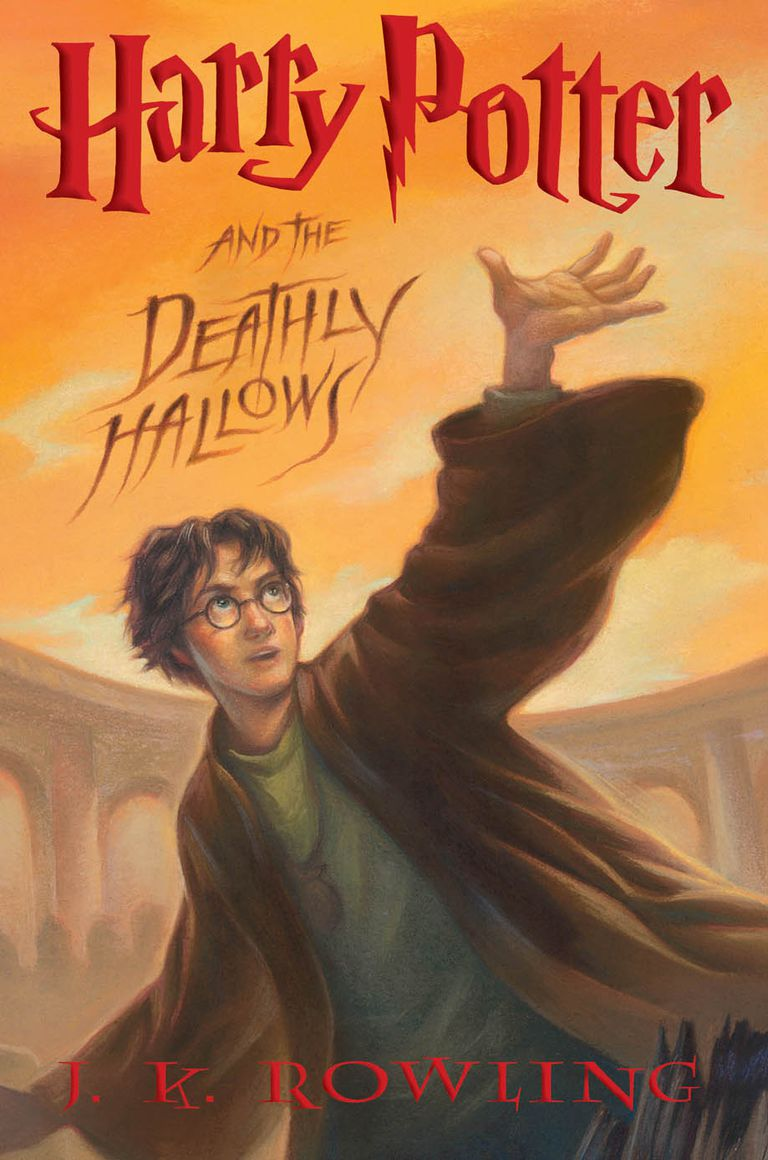 Image result for harry potter deathly us cover
