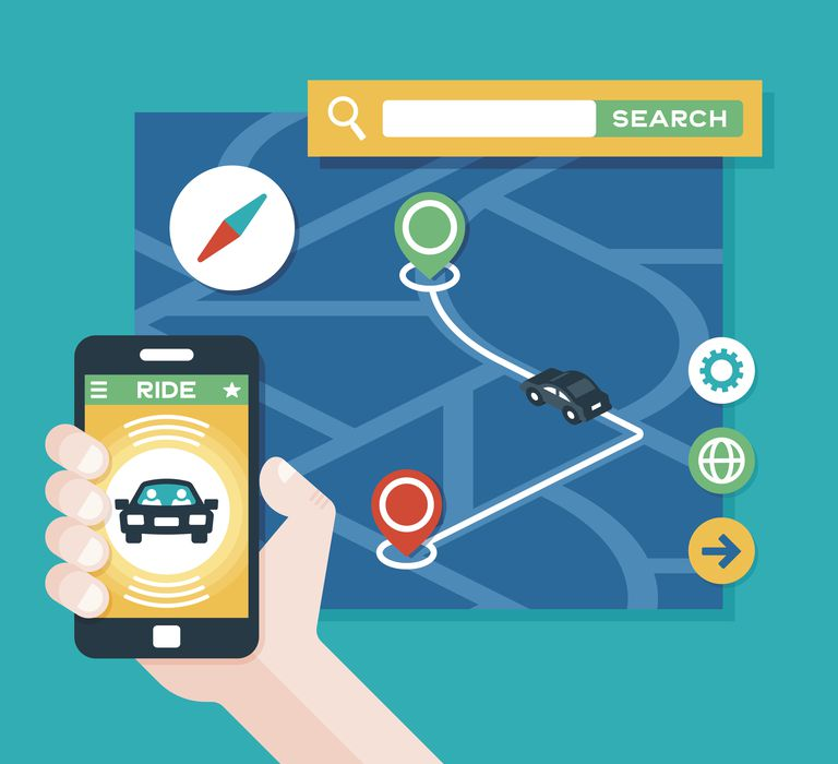 Uber Beacon and live location sharing