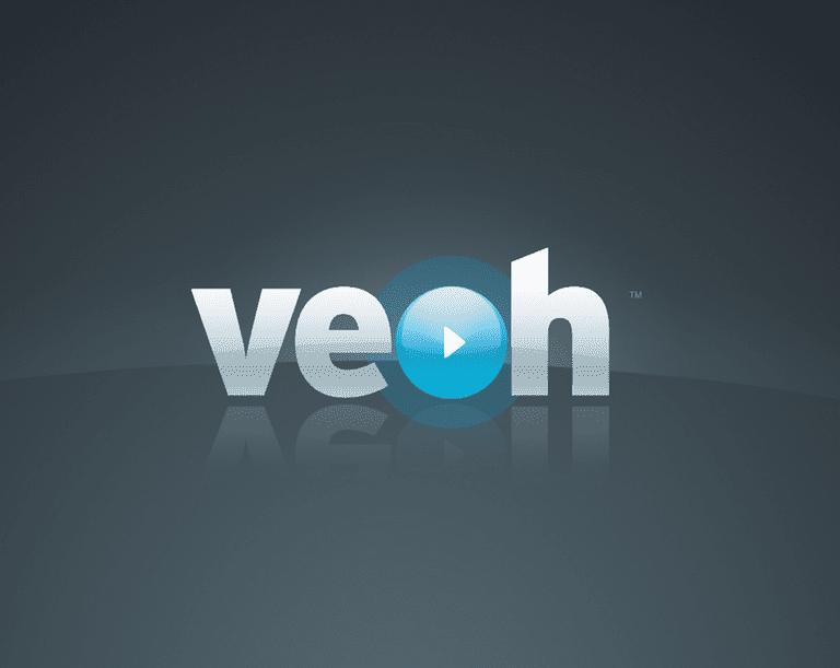 Screenshot of the Veoh logo