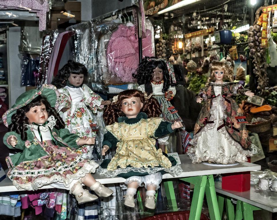 Old dolls