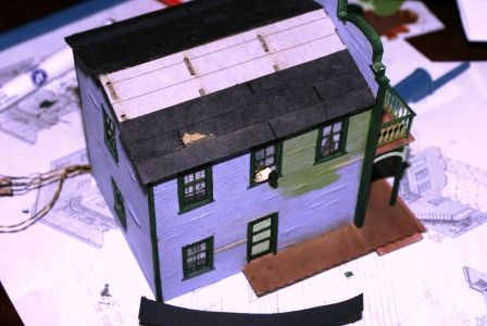 Building With Cardstock Model Kits