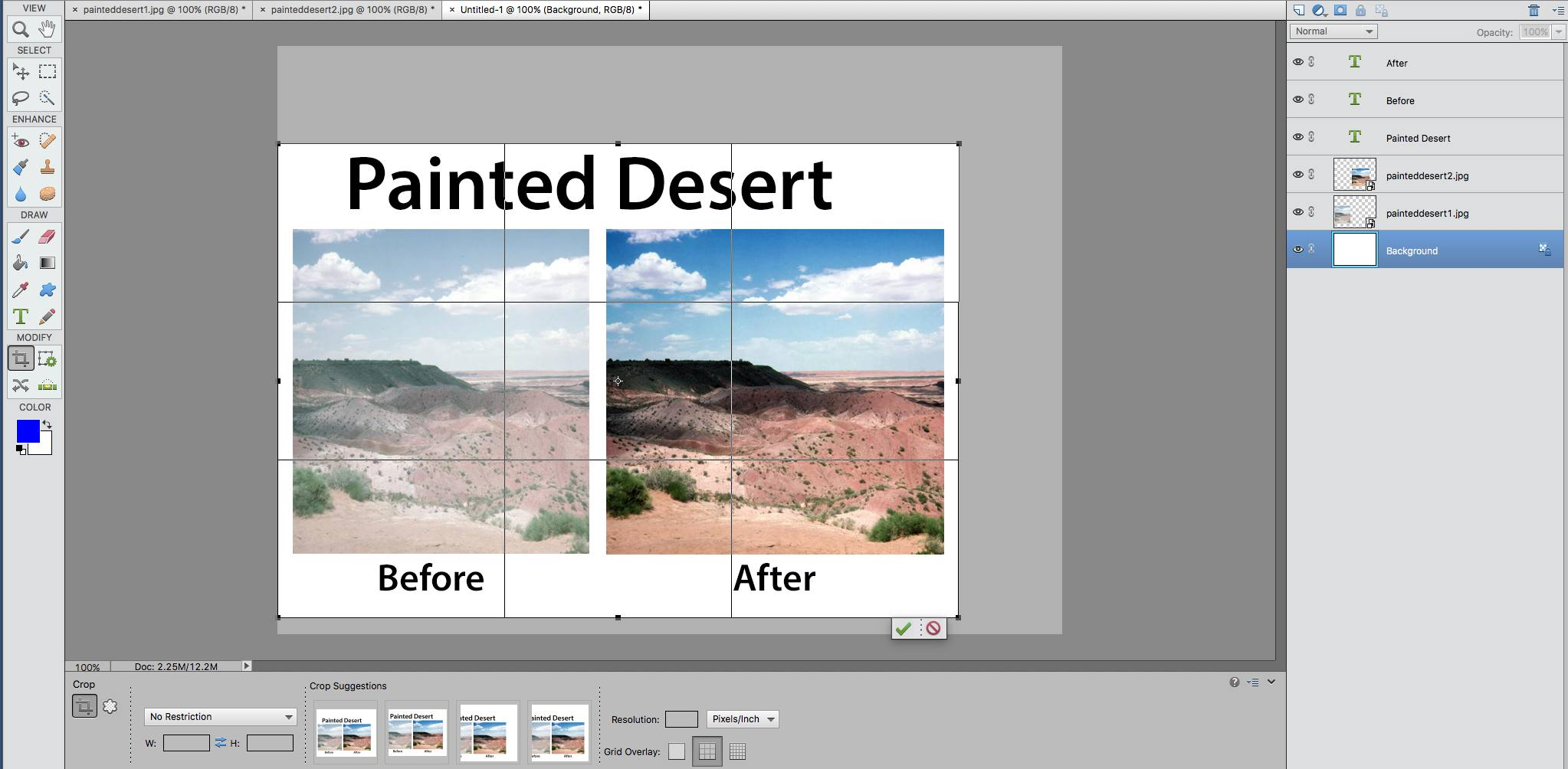 Combine pictures into one page in photoshop elements baditri Images