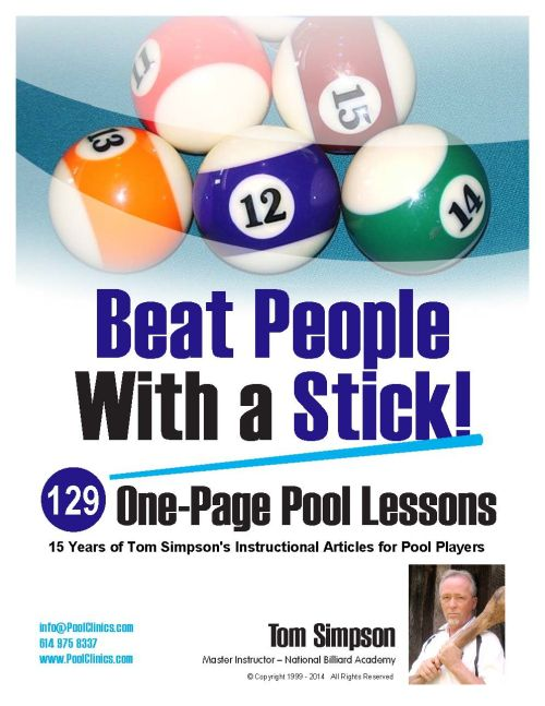 Beat People With a Stick! - A great pool book
