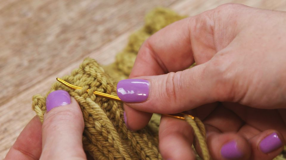 How To Weave In Ends In A Knitting Project
