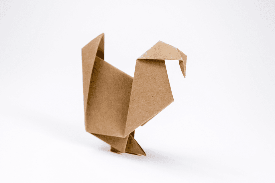 Origami Turkey Tutorial