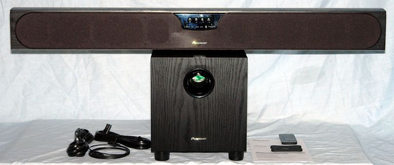 Pioneer SP-SB23W Speaker Bar System Package