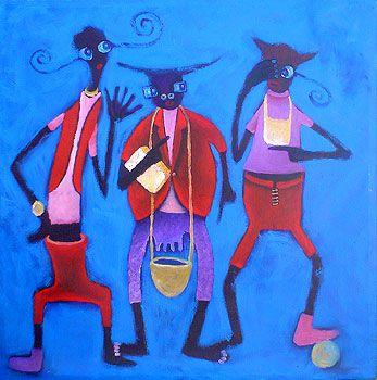 Animal Farm, Moses Nyawanda, Kenyan Contemporary Artist