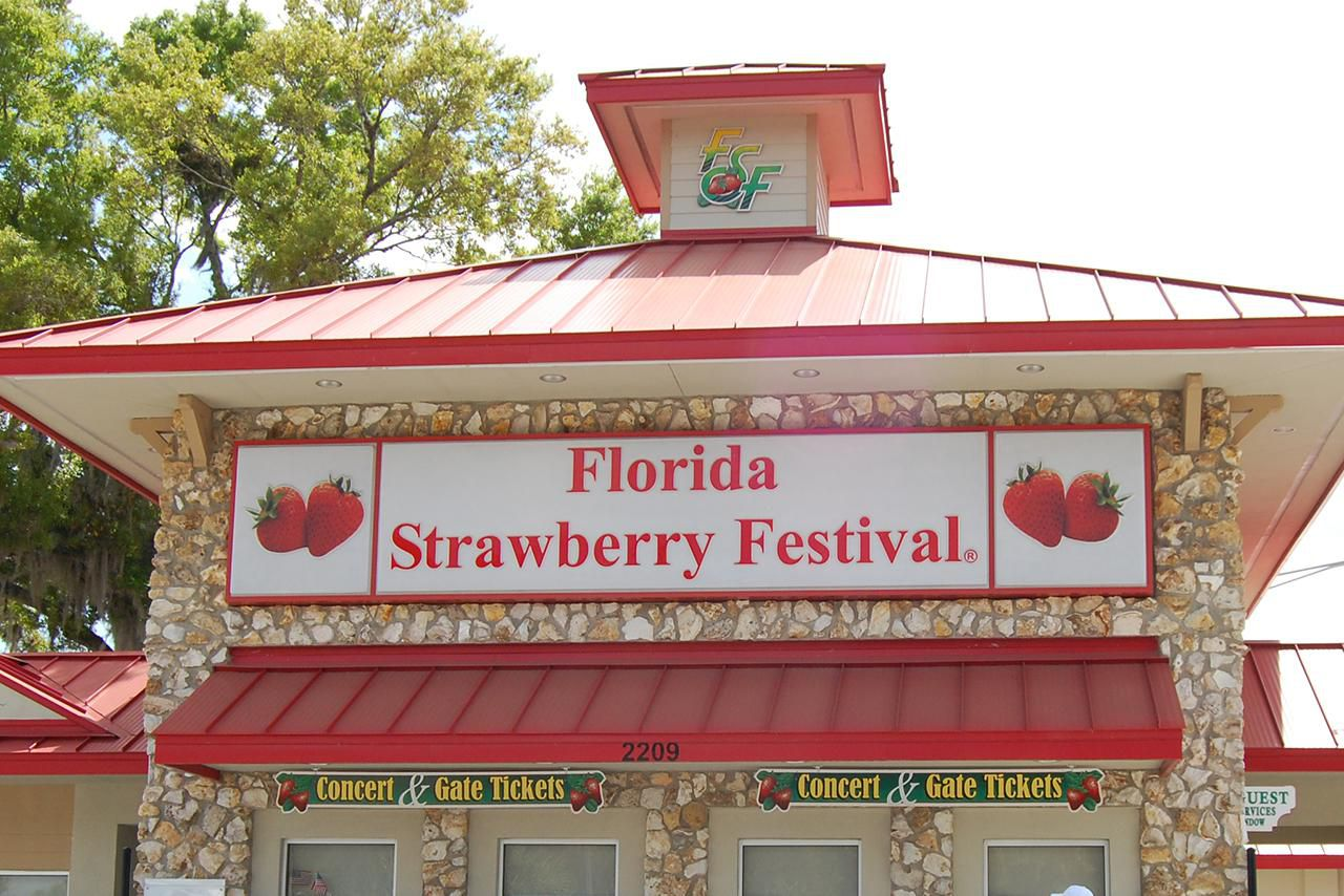 Florida Strawberry Festival 2018 In Plant City