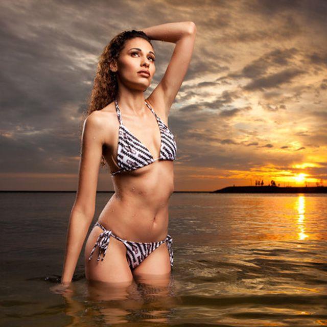 Top Model Angelea Preston