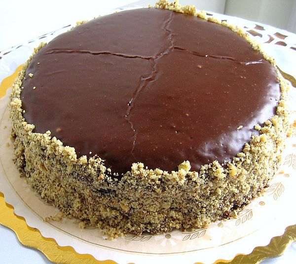 Serbian Chocolate Torte - Torta Cokolada