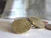 euro coins bill photo image