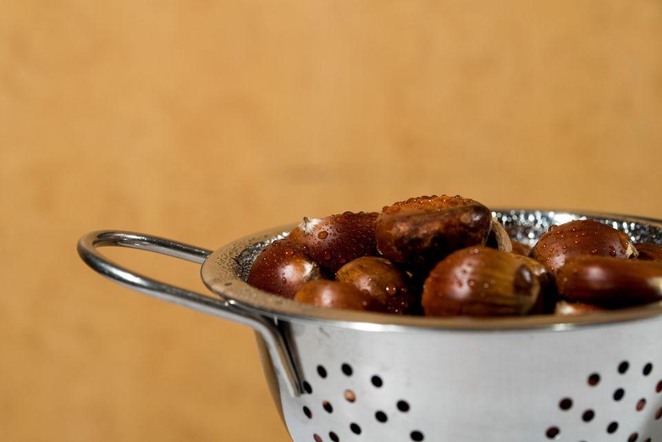 Chestnuts In Pot