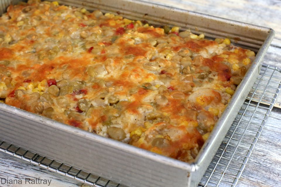 Hamburger Harvest Casserole