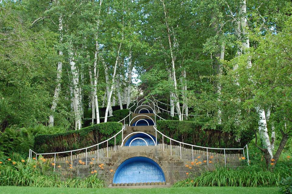 The Blue Steps at Naumkeag - Photo of the Blue Steps