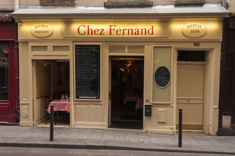 Chez Frenand French restaurant