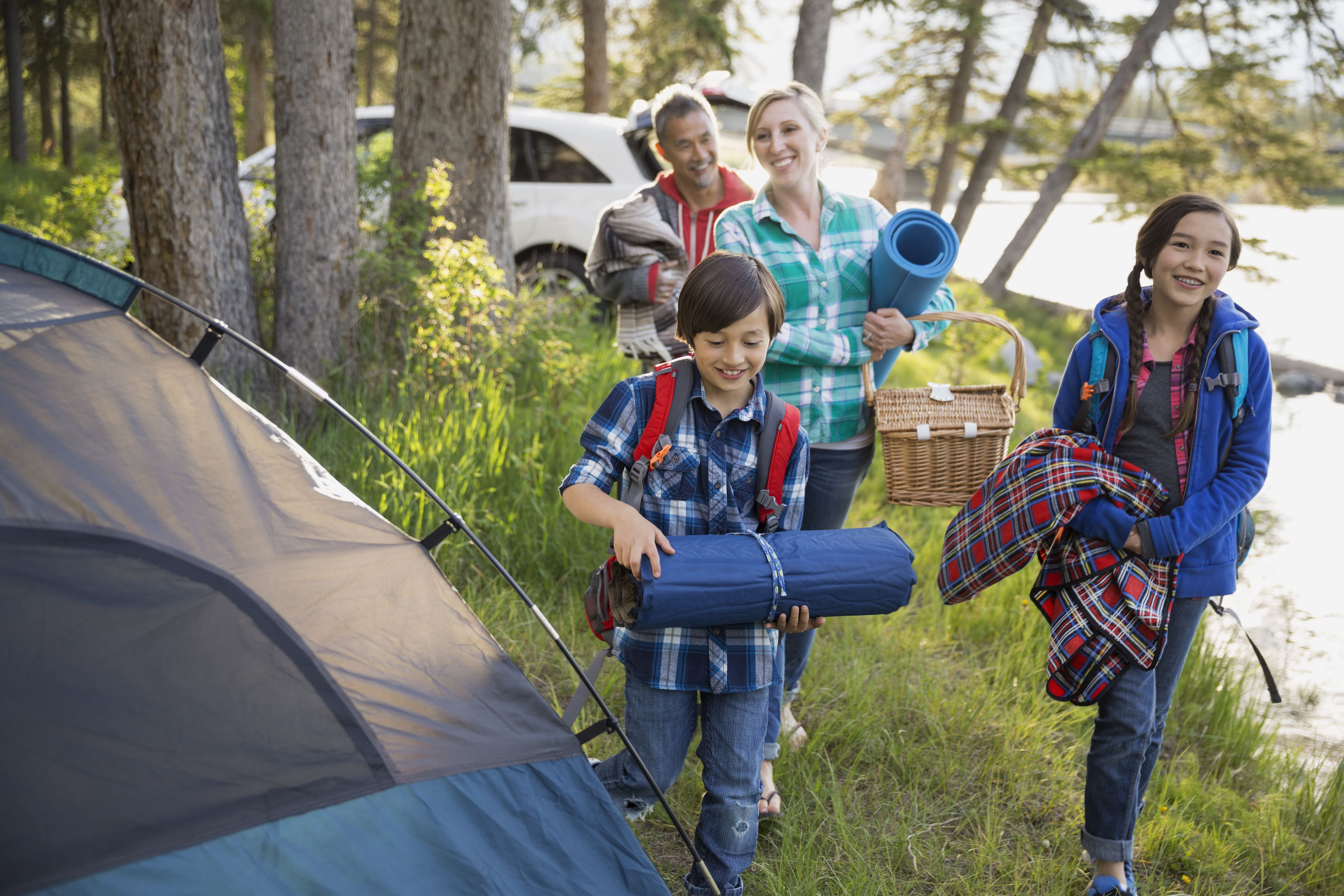camping with family Our comprehensive checklist for car campers and families includes recommendations on equipment, clothing and other camp essentials.