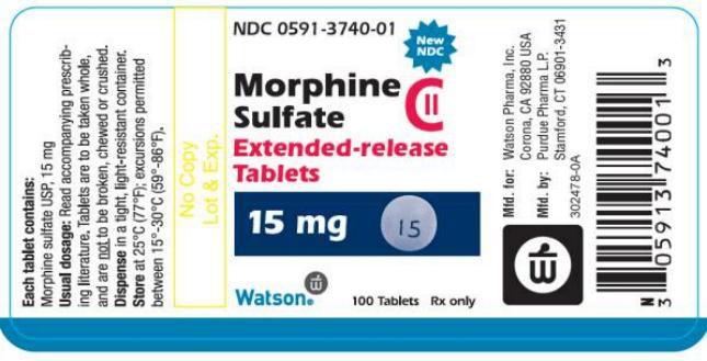 Morphine Label