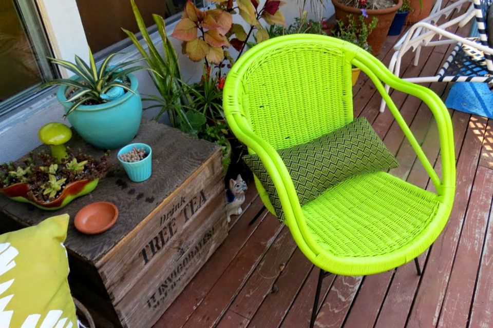 Garden Furniture Cheap Sources for cheap outdoor patio furniture vintage chair painted green workwithnaturefo