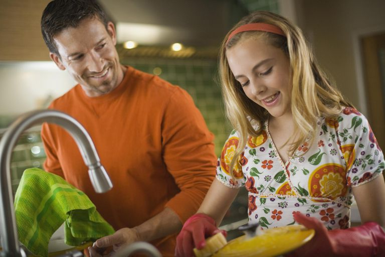 Assign your teen age-appropriate chores.