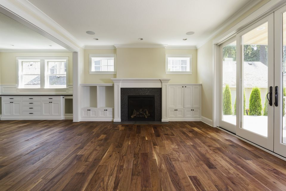 Laminate Flooring Living Room. Fireplace and built in shelves living room The Pros Cons of Prefinished Hardwood Flooring