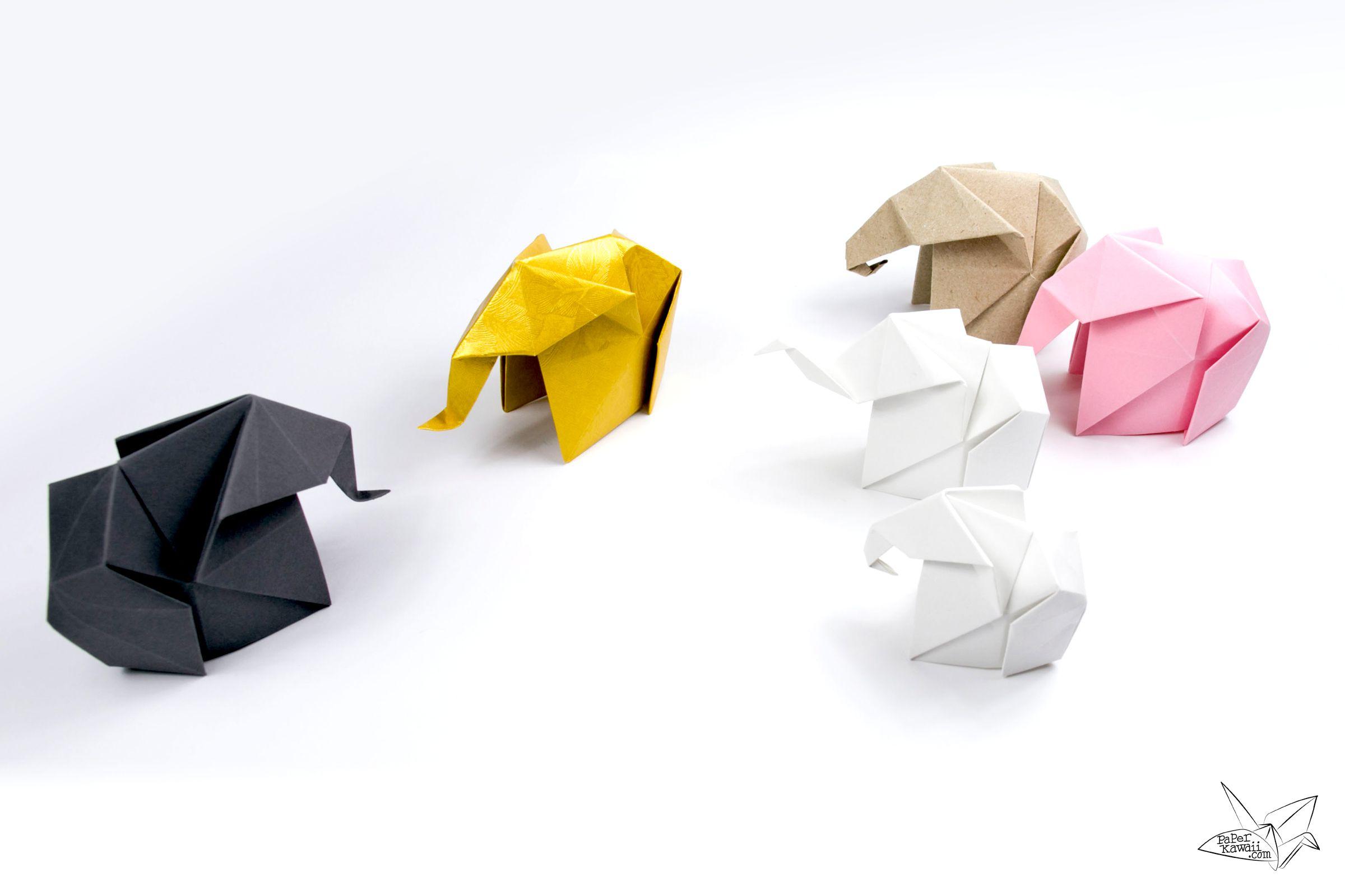 How to make an origami elephant jeuxipadfo Choice Image