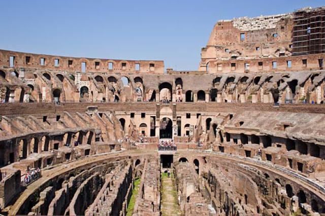 colosseum picture, interior