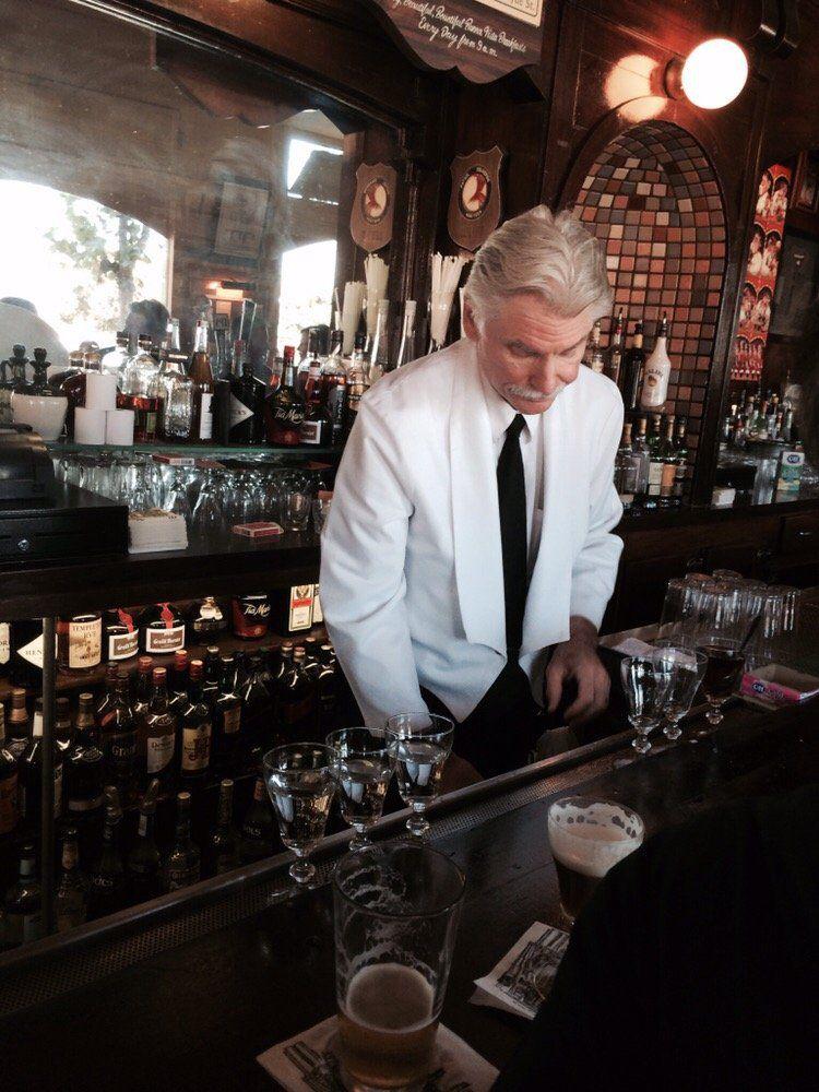 The bar at Buena Vista Cafe