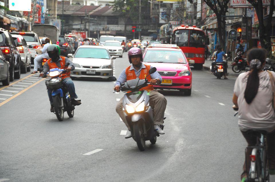 Driving in Asia - Bangkok