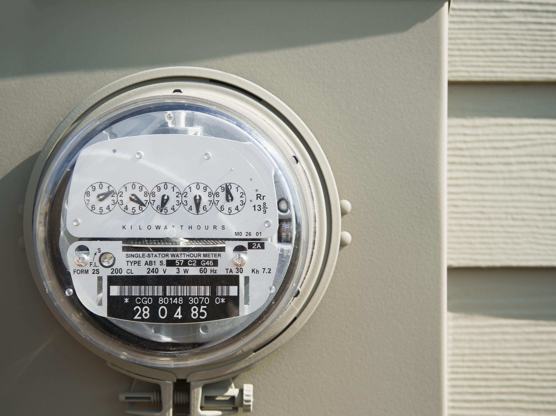 Utility Meter Analog : Analog vs digital smart electric meters