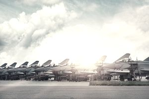 Military planes