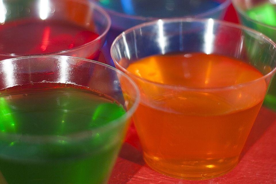 Margarita Jelly (Jell-O) Shots