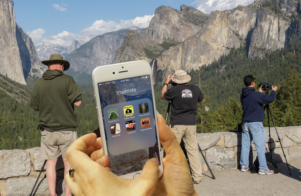 Using Helpful Apps at Yosemite