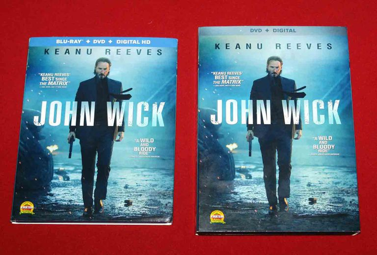 John Wick - Blu-ray vs DVD