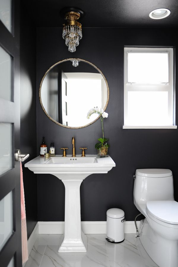 Interior Black Bathrooms 17 beautiful black bathrooms
