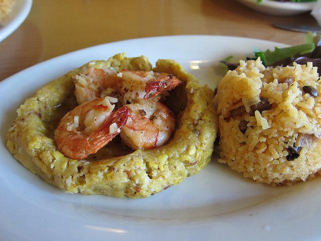 Mofongo At Coquito's Latin Cuisine.