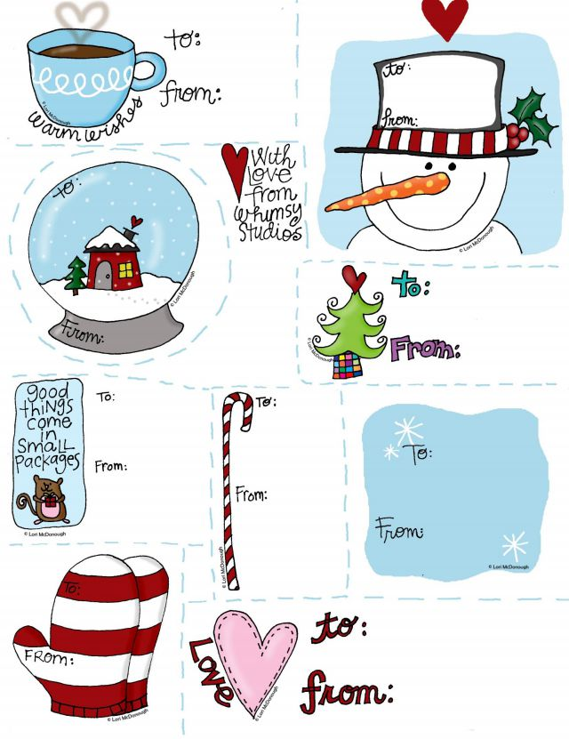 41 sets of free printable christmas gift tags happy holidays printable gift tags by fresh picked whimsy negle Gallery