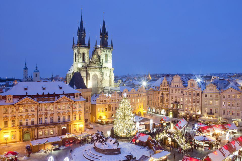 prague, christmas market