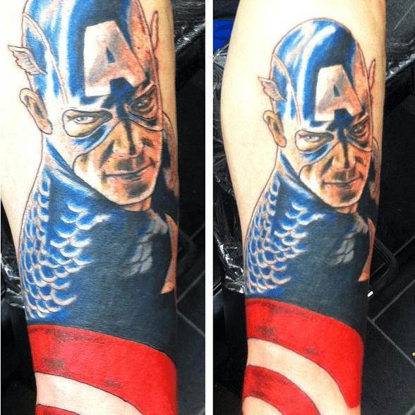 Tatuajes de Los Vengadores (The Avengers)