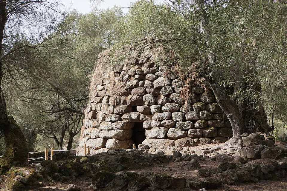 Nuraghe of Santa Christina in Paulilatino, Sardinia