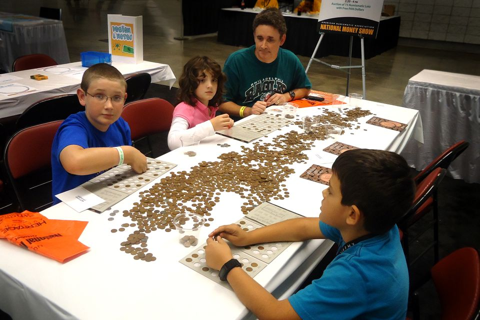 Kids in Coin Collecting