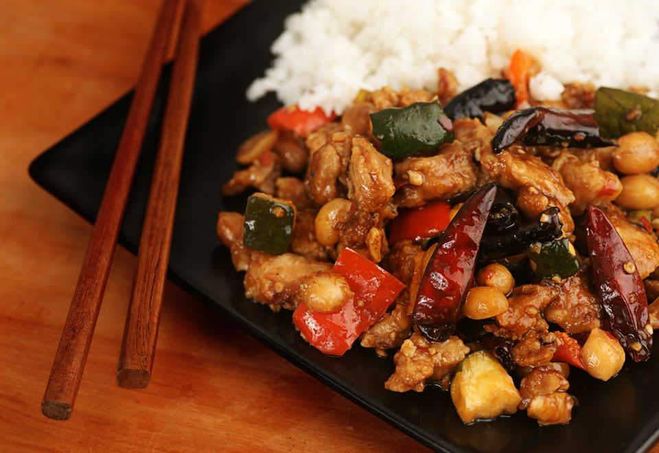 kung pao chicken - Chinese New Year Food Recipes