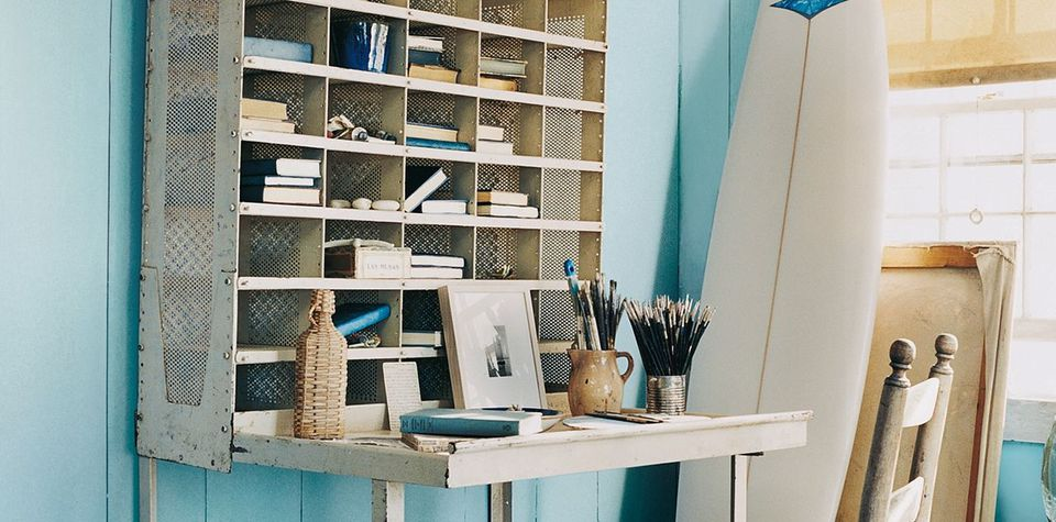 home office paint colors. Home Office Colors To Boost Productivity. Ralph Lauren Paint - Harbor Blues Collection L