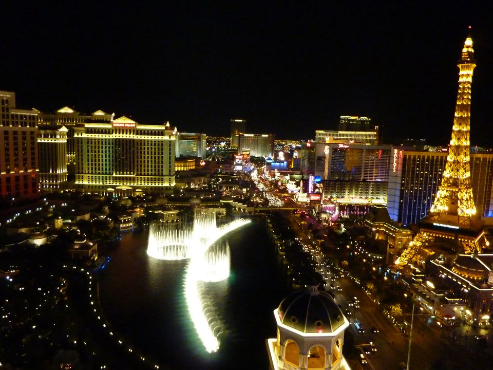 The View from the Cosmopolitan Hotel Rooms