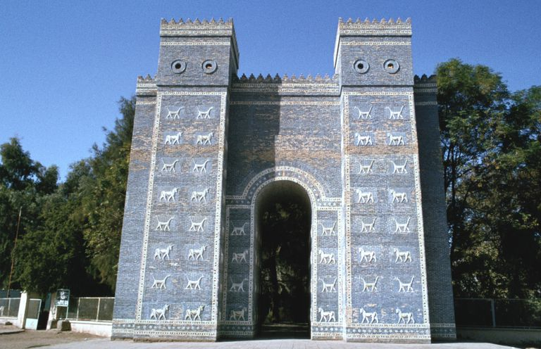 Ishtar Gate, Babylon, Iraq